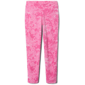 Columbia Glacial Printed Leggings Girls, pink ice camo